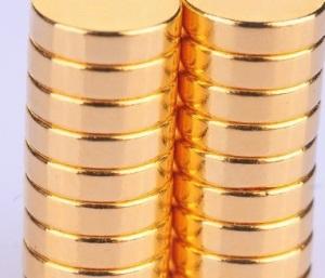 Gold Neodymium Magnets