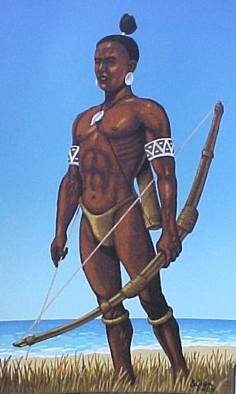 what the taino really look like