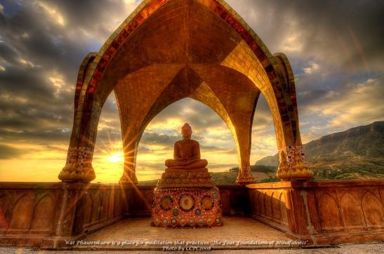Buddha at Wat Pharornkaew