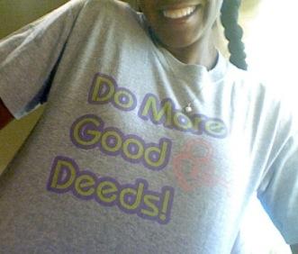 Do More Good Deeds tee2