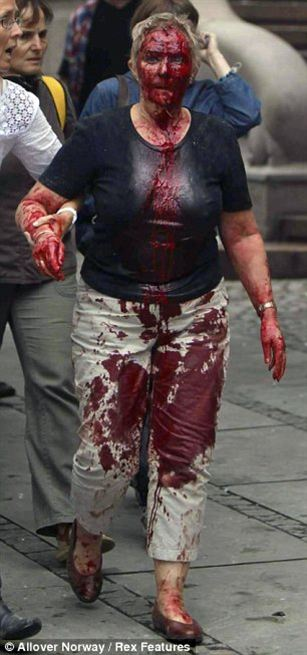 Why is there so much blood...whats REALLY going on in Norway