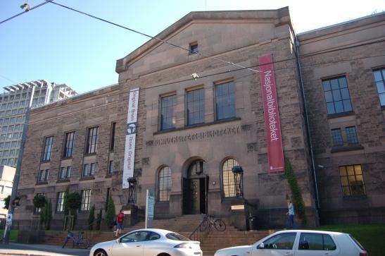 Nasjonalbiblioteket-Oslo National Library