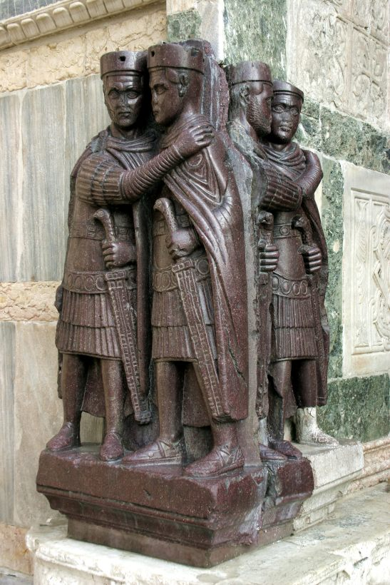 Venice_–_The_Tetrarchs-The Four Harmony Brothers