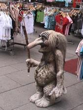 Troll Statue i Norway