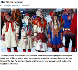 so-called saami people