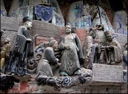 Praying to Buddha for Descendants