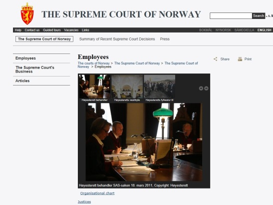 Surpreme Court Justices of Norway