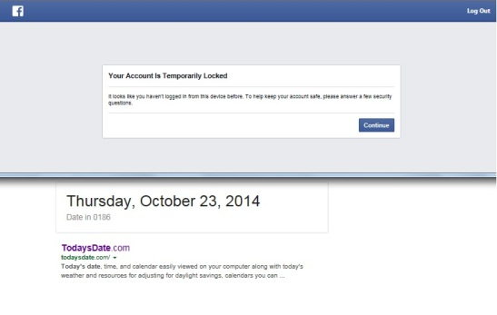Fackbook locked-23Oct14