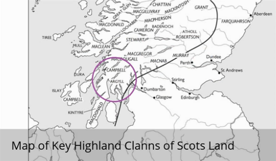 Highland Map