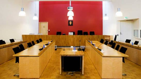 Norwegian Courts and Government Empty