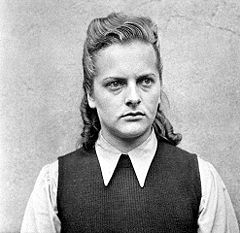 Irma Grese-Prison Guard at Ravensbrück Concentration Camp