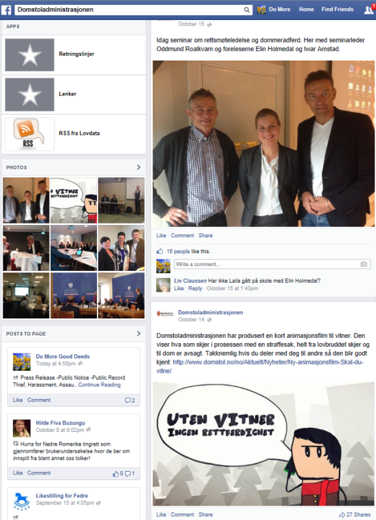 Norway Court Facebook post-20Oct14-post on page