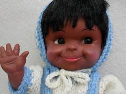 Inuit Doll-Vintage Eskimo doll from the 60s-70s-3