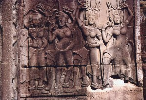 Cambodia Apsaras_celestial_nymphs