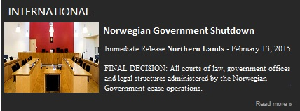 Norwegian Government Shutdown-February 13, 2015