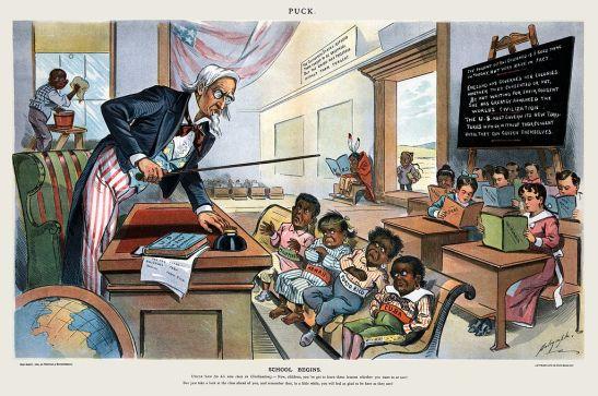 School_Begins_(Puck_Magazine_1-25-1899)
