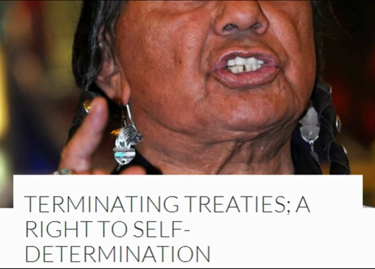 Terminaating Treaties and Agreements