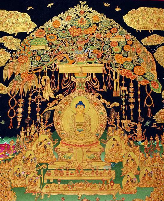 Amitabha Buddha & Sukhavati Paradise